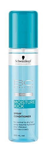 Schwarzkopf Professional BC Bonacure Moisture Kick Spray Conditioner, 1er Pack (1 x 200 ml) - Bc Spray Conditioner