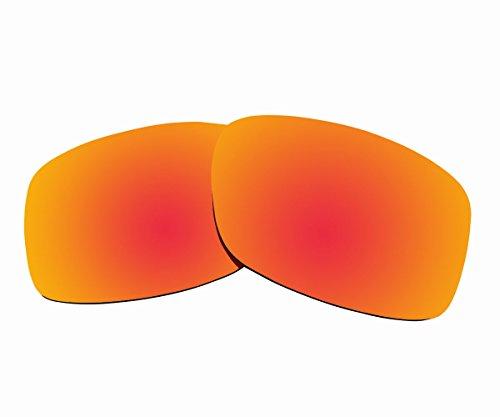 Sunnyblue2 Orange Polarisierte Ersatz Gläser für Oakley Jupiter Squared Sonnenbrille