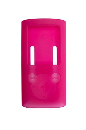 Preisvergleich Produktbild Silikon Schutzhülle / Bumper - Rot - für Sony NWZ-E384 Walkman Video/MP3-Player BERTRONIC ®