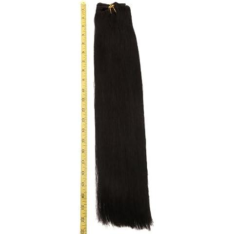 55,88 cm 9 piezas en forma de Remy pinzas de sujeción para # para el hombre para el pelo de extensión de 19 color negro y gris 130 G y pantalla a juego para onestopdiycom del vestido de las mujeres diseño de la cerradura peluquería de la manera de