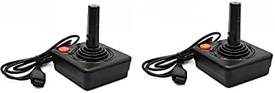 2 Pack Atari 2600 JoyStick Controllers by Classic Game Source Inc.