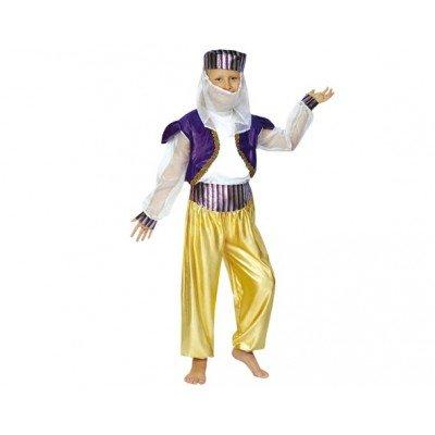 CRAZY THE PARTY, SL Arabische Tänzerin Kostüm für Mädchen L-(10/12 Jahre)