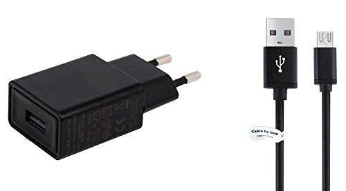 Usb-kabel Nook (TÜV geprüfte 1,5A Ladegerät. 1m Metal kabel, kompatibel mit Nook. Schwarze netzladegerät - netzteil mit ladekabel - datenkabel. Reise ladegerät - ladeadapter mit GS Prüfzeichen. USB kabel - aufladekabel mit 1 jahr garantie auf diesem adapter.)