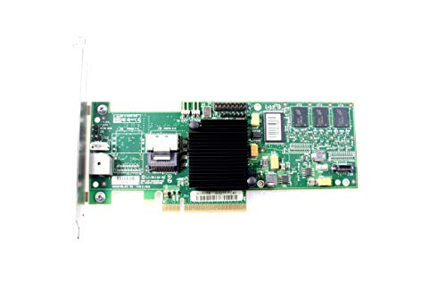 PC Server and Parts LSI MegaRAID MR SAS 8704EM2 L3-01144-09C - Tarjeta  controladora de Perfil bajo