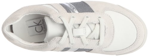 Calvin Klein Chad Suede/Nappa/Metallic Nappa/Coated Nylon Jungen Sneaker Beige (Ohy)