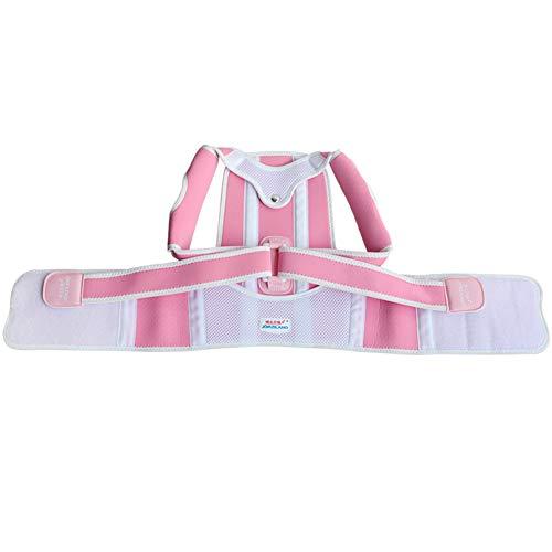 Komfortabler Rückschlag passt die Breathable Postrection von Kind-Blau, Pink,Pink,L