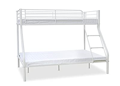 Newlyn Triple Sleeper Bunk Bed Finish: White