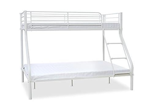 Newlyn Triple Sleeper Bunk Bed Finish: White