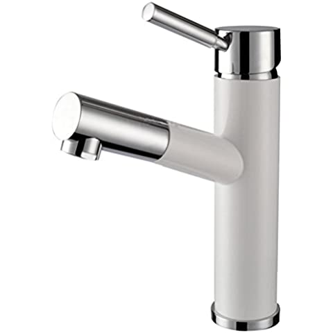 WP- All-in rame vernice bianca tirare rubinetto