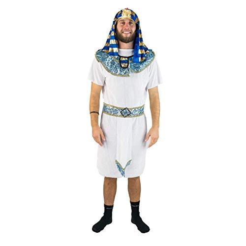 Pharao Kostüm Halloween - Bodysocks®  Ägyptisch Pharao Kostüm für Herren