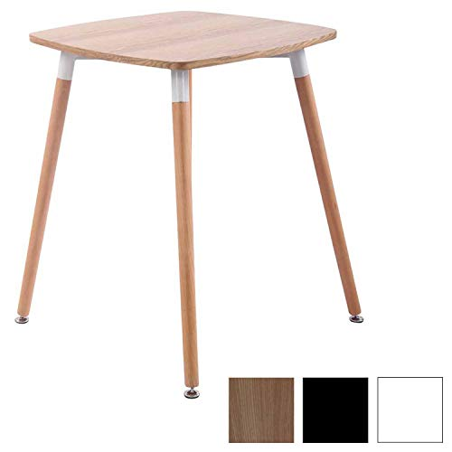 CLP Tavolo Quadrato da Cucina Viborg in Legno – Tavolino da ...