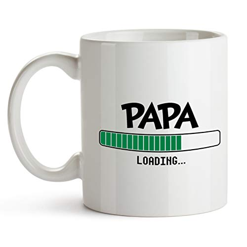 Custom-cases Taza Papa Loading futuros Papas día