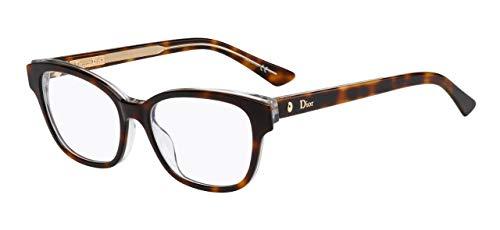 Dior Brillen MONTAIGNE 3 HAVANA CRYSTAL Damenbrillen