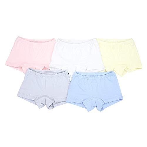 TupTam Mädchen Boxershorts Baumwolle Pantys im 5er Pack, Farbe: Farbenmix, Größe: 104-110