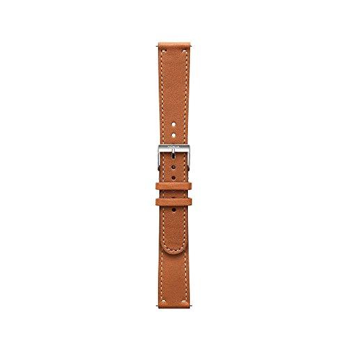 Nokia – Lederarmband, Brown, 18 mm
