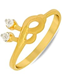 P.N.Gadgil Jewellers Lavanya Collection 22k (916) Yellow Gold Ring - B01MCT5LZ3