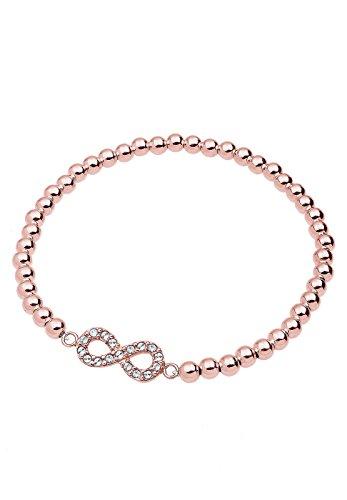 Elli-Damen-Armband-Infinity-Unendlichkeit-925-Sterling-Silber-rosvergoldet-mit-Swarovski-Kristall-im-Brillantschliff-18-cm-0202691115-18