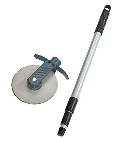 Wenko 88231500 Rasenkanten-Roller Cut, Rasenkantenschneider mit Schnittschutz