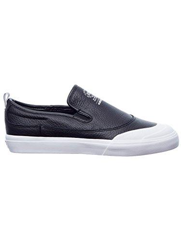 adidas Herren Matchcourt Slip Skateboardschuhe Schwarz (Negbas / Negbas / Ftwbla)