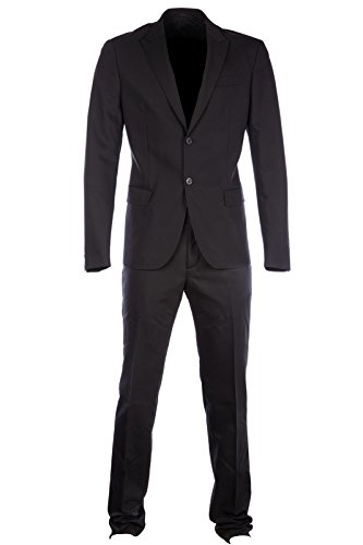 dirk-bikkembergs-mens-suit-original-black-uk-size-56-uk-46-c2dbk116306a999
