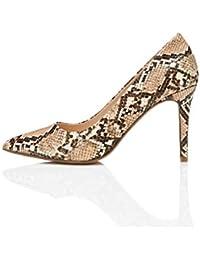 Amazon-Marke: find. Damen Pumps and Point Heel Court Mary Jane Halbschuhe