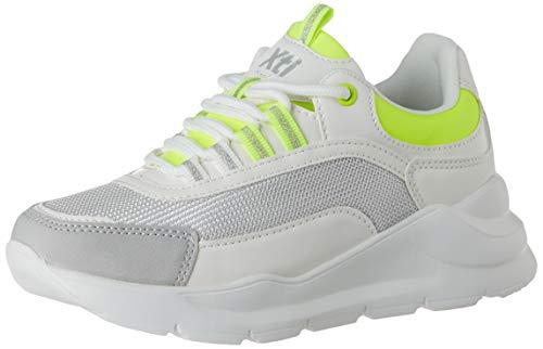 XTI 57028, Zapatillas para Niñas, Amarillo Amarillo Amarillo, 34 EU