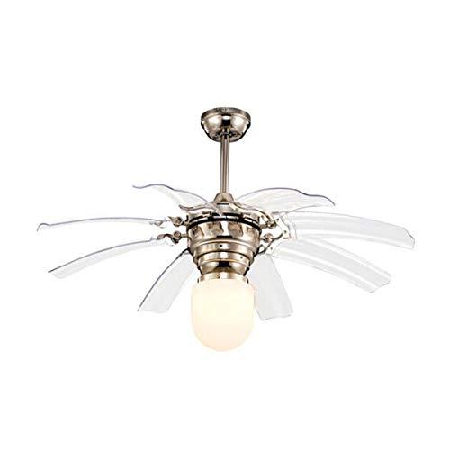 Araña, luz de ventilador de techo, lámpara de ventilador, ventilador eléctrico silencioso,...
