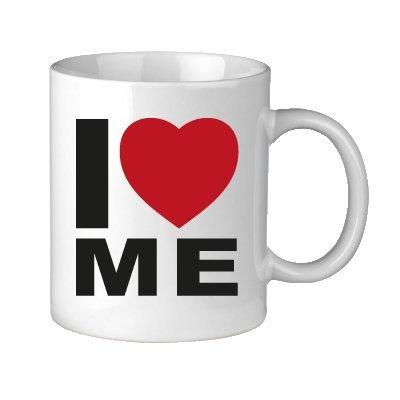 Unbekannt 'Pression de Vos-Tasse Love Mug I Love Me.