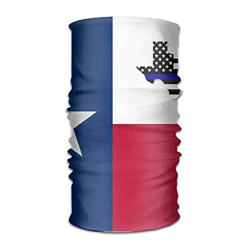USA Texas Flag Women Men Funny Headwear Bandanas - Multifunctional Headband Sports Magic Scarf For Outdoor Activity