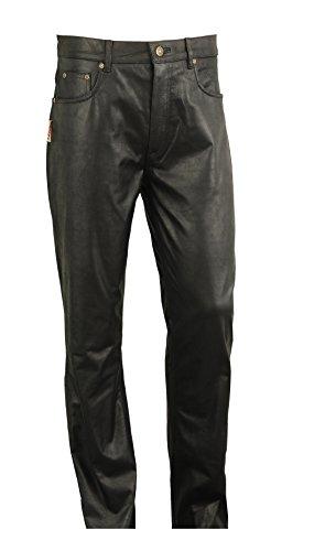 Lederprofi -  Pantaloni  - Jeans boot cut - Uomo Marrone