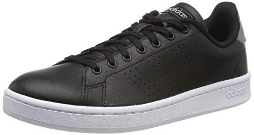 adidas Advantage, Scarpe da Ginnastica Basse Uomo, Nero (Core Black/Core Black/Grey 0), 44 2/3 EU