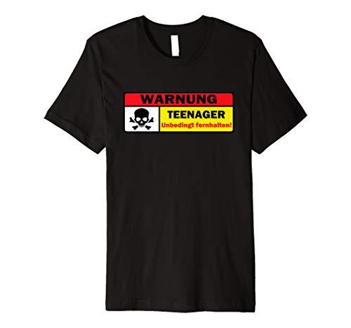 Warnung Teenager Fernhalten Fun Sarkasmus Sprüche Gag Lustig