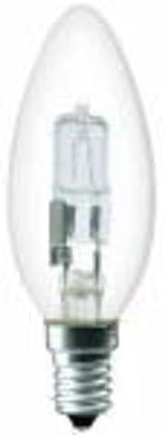 Molto Luce Halogen-Kerzenlampe E14 230 V, 46 W, 700 lm, glas klar, 1 Stück, 28-927309