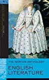 The Norton Anthology of English Literature, Eighth Edition, Volume 1: The Middle Ages Through the Restoration and the Eighteenth Century 8th (egith) edition