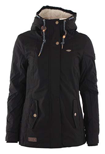 Ragwear Jacke Damen MONADE 1821-60017 Schwarz Black 1010, Größe:L