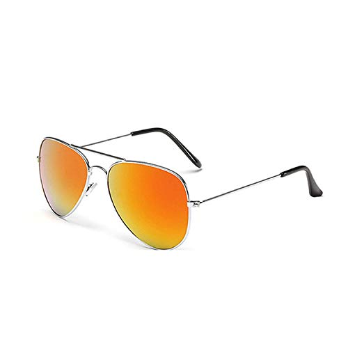 WERERT Sportbrille Sonnenbrillen Pilot Mirror Sunglasses Women/Men Sun Glasses Women Vintage Outdoor Driving