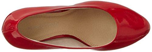 Marco Tozzi 22409, Escarpins Femme Rouge (Chili Patent 520)