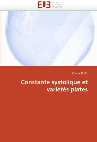 Constante systolique et variétés plates par Chady El Mir