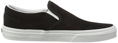 Vans Classic Slip-On Scarpe Sportive Outdoor, Unisex Adulto Nero (Lizard Emboss/Black/Blanc de Blanc)