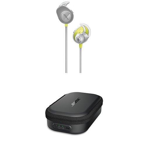 Bose SoundSport Transportetui mit Ladefunktion + Bose SoundSport wireless headphones - Citron