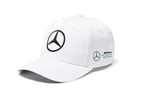 Mercedes AMG F1 Team Puma Baseball Casquette Blanc Officiel 2018 f7d5cb3442aa