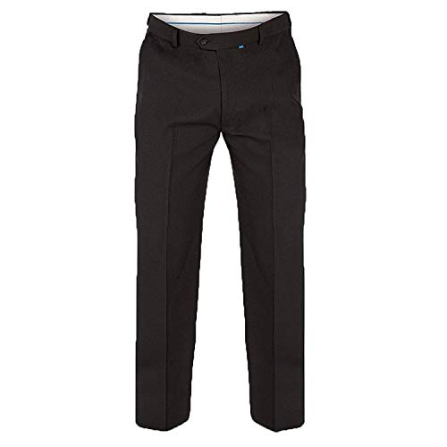 King Size Taille Hommes Pantalon Duke D555 Xtenda Taille Réglable Chic Décontracté Pantalon