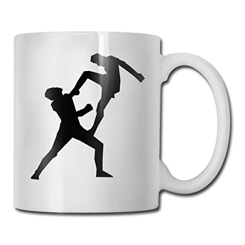 Daawqee Becher Coffee Mugs 11oz Funny Cup Milk Juice Or Tea Cup Boxer Boxing Birthday