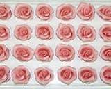 SweetKonzept, 31702, Marzipanrosen rosa 42 Stück klein