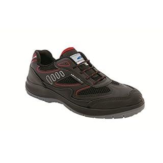 Aboutblu 1930010la _ 39Eagle Black Red S3Work Shoe Size 39, Black Red