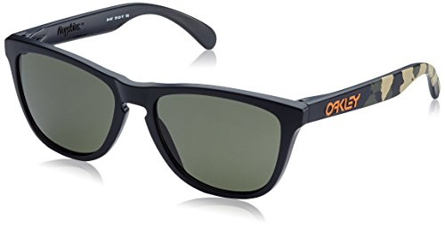 Oakley Eric Koston Signature Series Frogskins Sunglasses OO9013 24-437 Matte Black / Gray