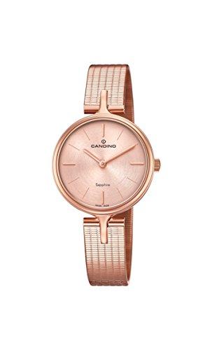 Candino Reloj Análogo clásico para Mujer de Cuarzo con Correa en Acero Inoxidable C4645/1