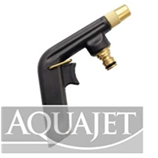Aquajet 470 B Aluminium Spray Gun Lacquered with Epoxy Anti-Scratch Paint in Blister, Silver, 30 x 30 x 30 cm