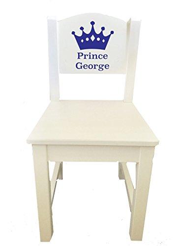 Little Secrets Kinderstuhl aus Holz, mit Krone, personalisierbarer Name, Geschenk