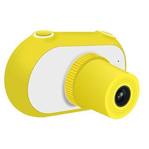 SCDJK Kinder Kamera Kinder Digitalkameras for Jungen-Geburtstags-Spielzeug-Geschenke 3-10 Jahre Alten Kind-Tätigkeits-Kamera-Kleinkind-Videorekorder (Color : Yellow)